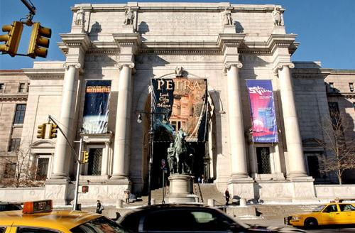 The front entrance of the American Museum of Natural History in New York City. Two of its workers signed the letter send to the federal government yesterday.
