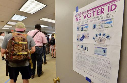 Stop removing voters from rolls in North Carolina