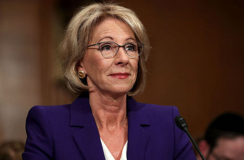 Betsy DeVos Addresses School Presidents, Changes Opinion On Black Colleges