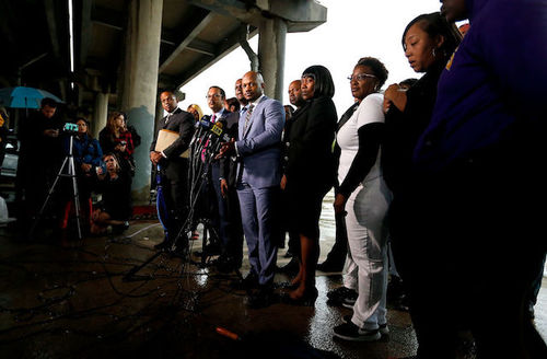 Family of Alton Sterling files wrongful death lawsuit