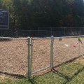 Waples Mobile Home Community Soccer Field with green sign