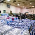 The city used to receive thousands of water bottle donations. Now, at least one church is seeing numbers dwindle.