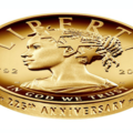 Gold coin features Black Lady Liberty