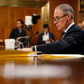 EPA Administrator Scott Pruitt testifies during his confirmation hearing before the Senate Committee on Environment and Public Works on Capitol Hill January 18, 2017, in Washington, D.C.