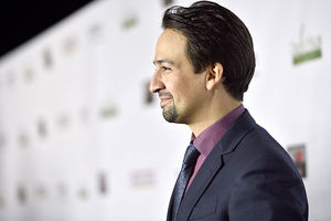 Lin-Manuel Miranda attends the 12th Annual US-Ireland Alliance's Oscar Wilde Awards event at Bad Robot on February 23, 2017, in Santa Monica, California.