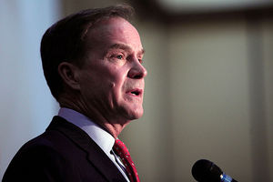 Michigan Attorney General Bill Schuette announced charges relation to the investigation into the water crisis on April 20, 2016, in Flint, Michigan. He is leading this investigation and announced new charges today.