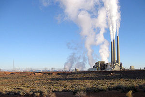 Located near Page, Arizona, the Navajo Generating Station is a coal-fired power plant that employs almost entirely Navajo people.