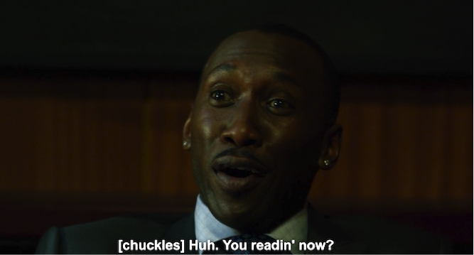 Incredulous Mahershala Ali