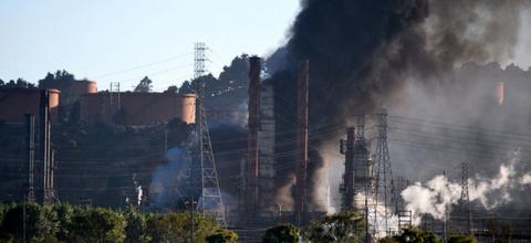 The Chevron Refinery explosion in Richmond, California, on Aug. 6, 2012, resulted from failings on Chevron's part and nearly killed 19 employees. One employee escaped being engulfed by flames from wearing a full-body firefighting suit.
