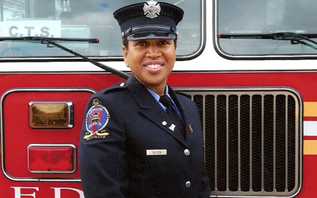 black female ny firefighter on how to remember 9  11 u0026 39 s