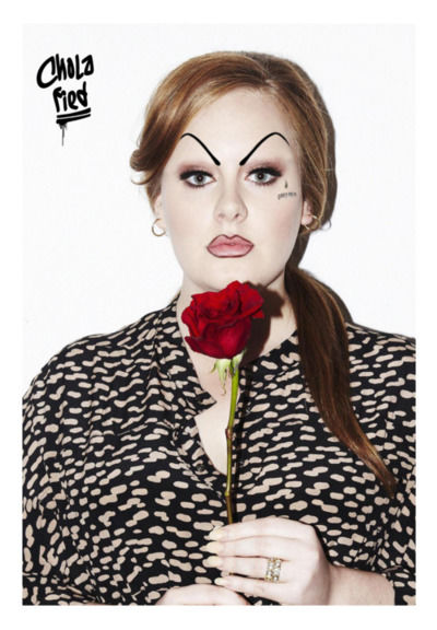 Cholafied: A Tumblr with Pop Stars in