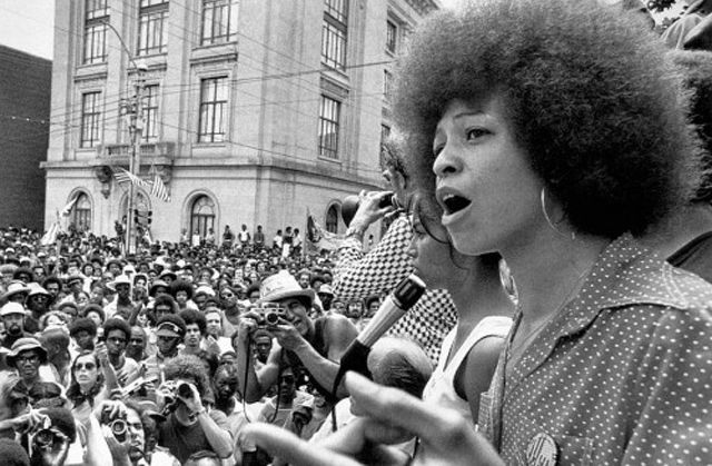 Angela Davis Returns To Ucla 45 Years After Being Fired