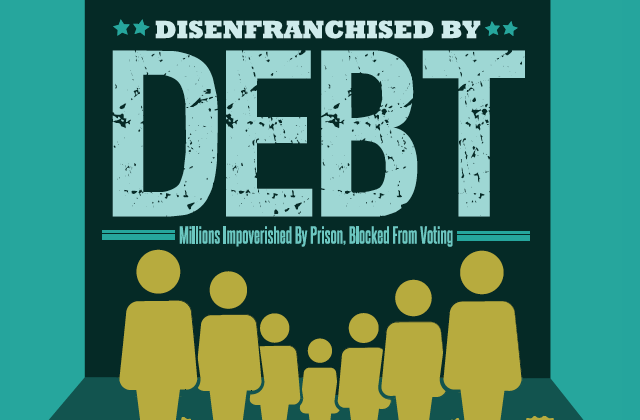 Report 30 States Use Debt To Disenfranchise Ex Offenders