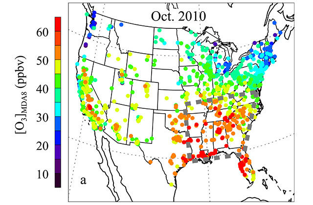 STUDY: Ozone Season Worsens in the Southeast Due to Climate ...