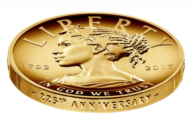 U.S. Mint Reveals First Black Lady Liberty Coin
