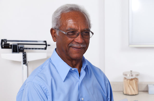 Black Man At A Doctor's Visit