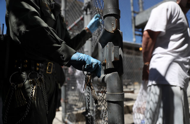 California governor signs criminal justice reform measures.