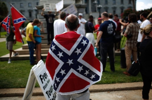 poll most white americans view confederate flag as a symbol of