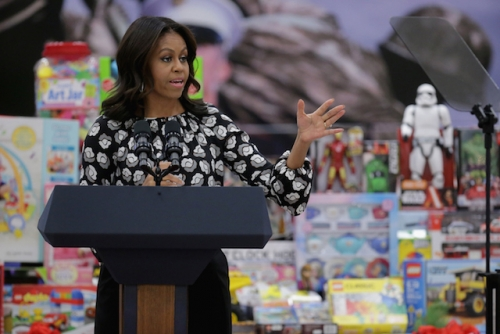 Toys For Tots Washington State : First lady to host syrian refugee at state of the union