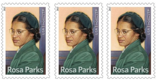 Rosa Parks Featured on USPS Forever Stamp | Colorlines