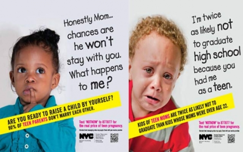 7e6cbcf9d New York City Tries to Shame Its Teens Into Not Having Babies ...