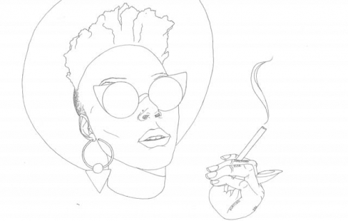 this afro feminist coloring book will inspire you - Beyonce Coloring Book