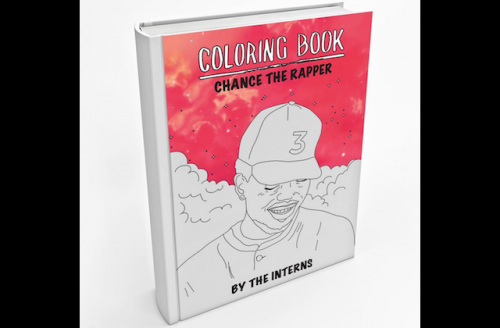 Check Out This Coloring Book Based On Chance The Rapper S Coloring