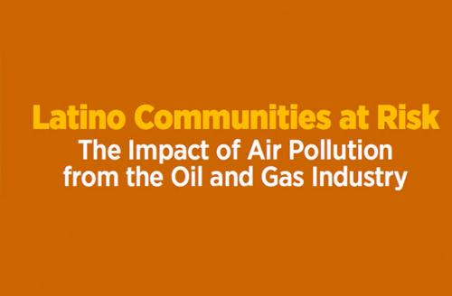 The Clean Air Task Force partnered with the League of Latin American Citizens, Earthworks and the National Hispanic Medical Association to create this report released yesterday.