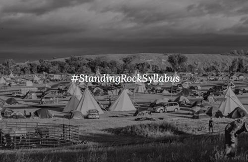 Colorlines screenshot of New York City Stands with Standing Rock Collective website, taken on November 21, 2016.
