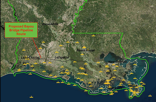 Map Of Louisiana Bayou.New Report Cites 144 Total Pipeline Accidents In Louisiana Last Year