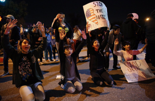 Protestors Demand Charges for LAPD Officer Caught on Tape