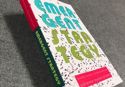 Photo of the book Emergent Strategy