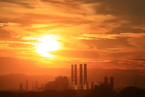 The Department of Water and Power (DWP) San Fernando Valley Generating Station is December 11, 2008 in Sun Valley, California.