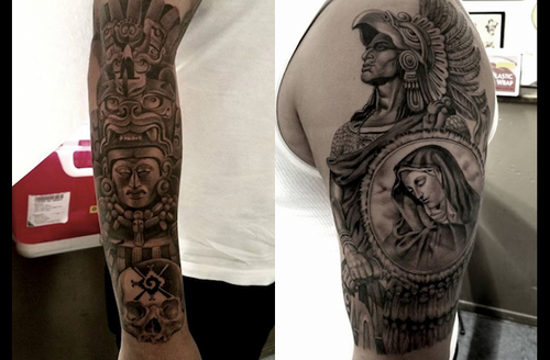Listen Npr Traces Black And Grey Realism Tattooing To Mexican