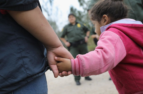 Immigrants at the border
