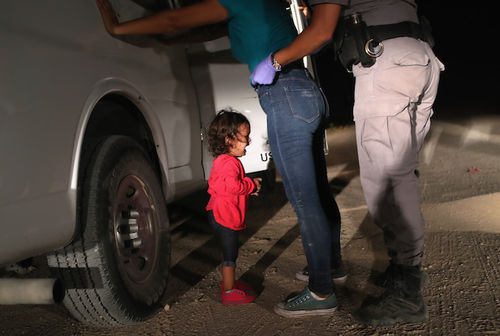 Protests surge against Trump administration policy of separating immigrant children from parents.