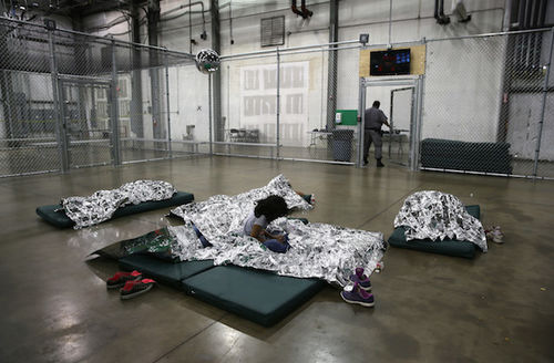 HHS eyeing several TExas sites to erect tent cities to house unaccompanied minors.