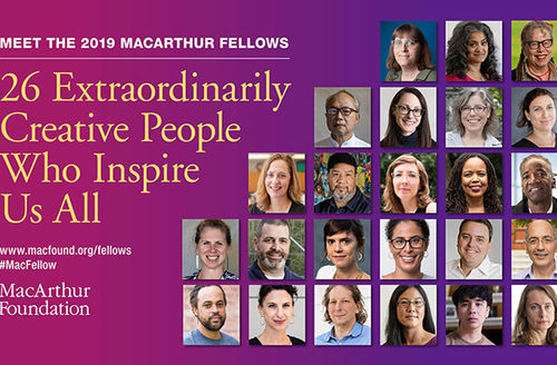 2019 MacArthur Fellows. A diverse group of 26 individuals.