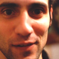 Close-up of Khalid Jabara's face