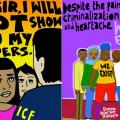 Julio Salgado Colorful Diverse Queer Cartoon Art Illustrations LGBTQ Trans Gay Liberation