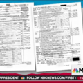 Two pages of a 1040 tax return