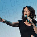 "Journalist Maria Hinojosa speaks after ""The Latino List: Volume Two"" Screening on September 21, 2012 in New York City. Listen to her and co-host Julio Ricardo Varela interview two guests on their podcast, ""In the Thick."""