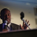 Ben Carson. Black man talking.