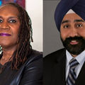 Andrea Jenkins and Ravinder Singh Bhalla