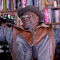 George Clinton smiling