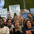 Activists' Immigration Rally