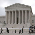 The outside of the Supreme Court