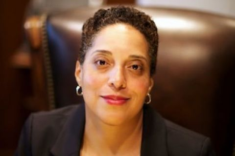 Head shot of St Louis Chief Prosecutor Kimberly Gardner.