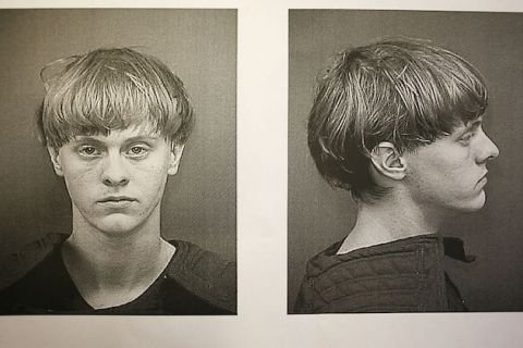 Mugshot of White man looking at camera and in profile