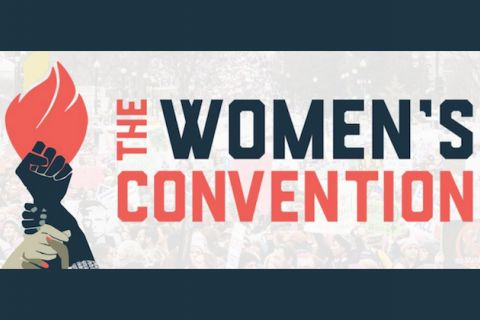 "Graphic says, ""The Women's Convention"""